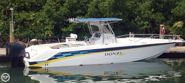 Used Donzi 35 ZF Open Center Console Fishing Boat For Sale