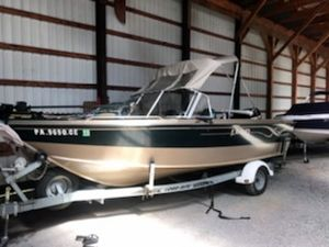Used Lund 1800 Fisherman O/B Sports Fishing Boat For Sale