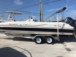 Used Hurricane SunDeck Sport 231 OBSunDeck Sport 231 OB Deck Boat For Sale