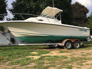 Used Neptune 23 WA23 WA Walkaround Fishing Boat For Sale