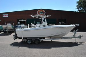 Used Clearwater 2300 Saltwater Fishing Boat For Sale