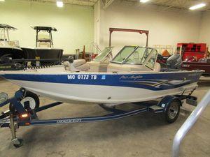 Used Smoker Craft Pro Angler 162Pro Angler 162 Aluminum Fishing Boat For Sale