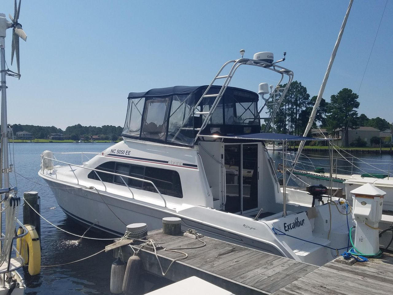 1996 Used Mainship Sedan Bridge Motor Yacht For Sale - $64,900 - New Mainship Double Cabin Boat Wiring Schematics on