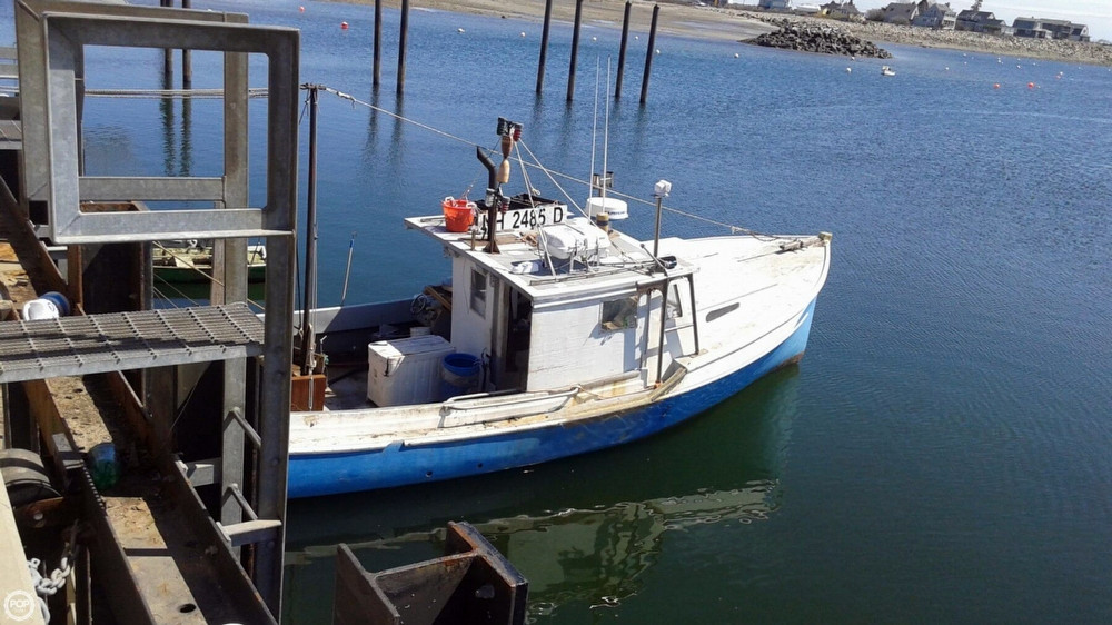 Used fishing lobster boats for sale for Used fishing boats