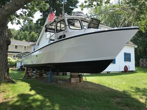 Used Downeast Kelleher 26 Downeast Fishing Boat For Sale