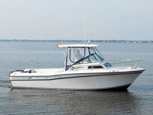 1984 used grady white sports fishing boat for sale for Grady white fishing boats