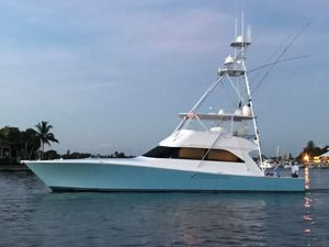 Used Viking Convertible 4 Stateroom Convertible Fishing Boat For Sale