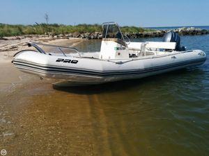 Used Zodiac Pro Open 650 Runabout Boat For Sale
