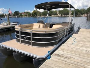 Used Harris 220 Cruiser Pontoon Boat For Sale