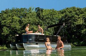New Harris Flotebote Sunliner 220 Pontoon Boat For Sale