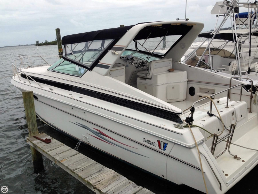 Used Wellcraft 34 St Tropez Express Cruiser Boat For Sale