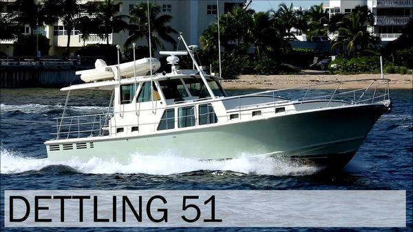 Used Dettling 51 Express Cruiser Boat For Sale