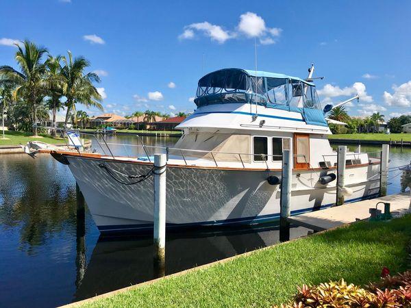 Used Ocean Alexander 43 Double Cabin Motor Yacht For Sale