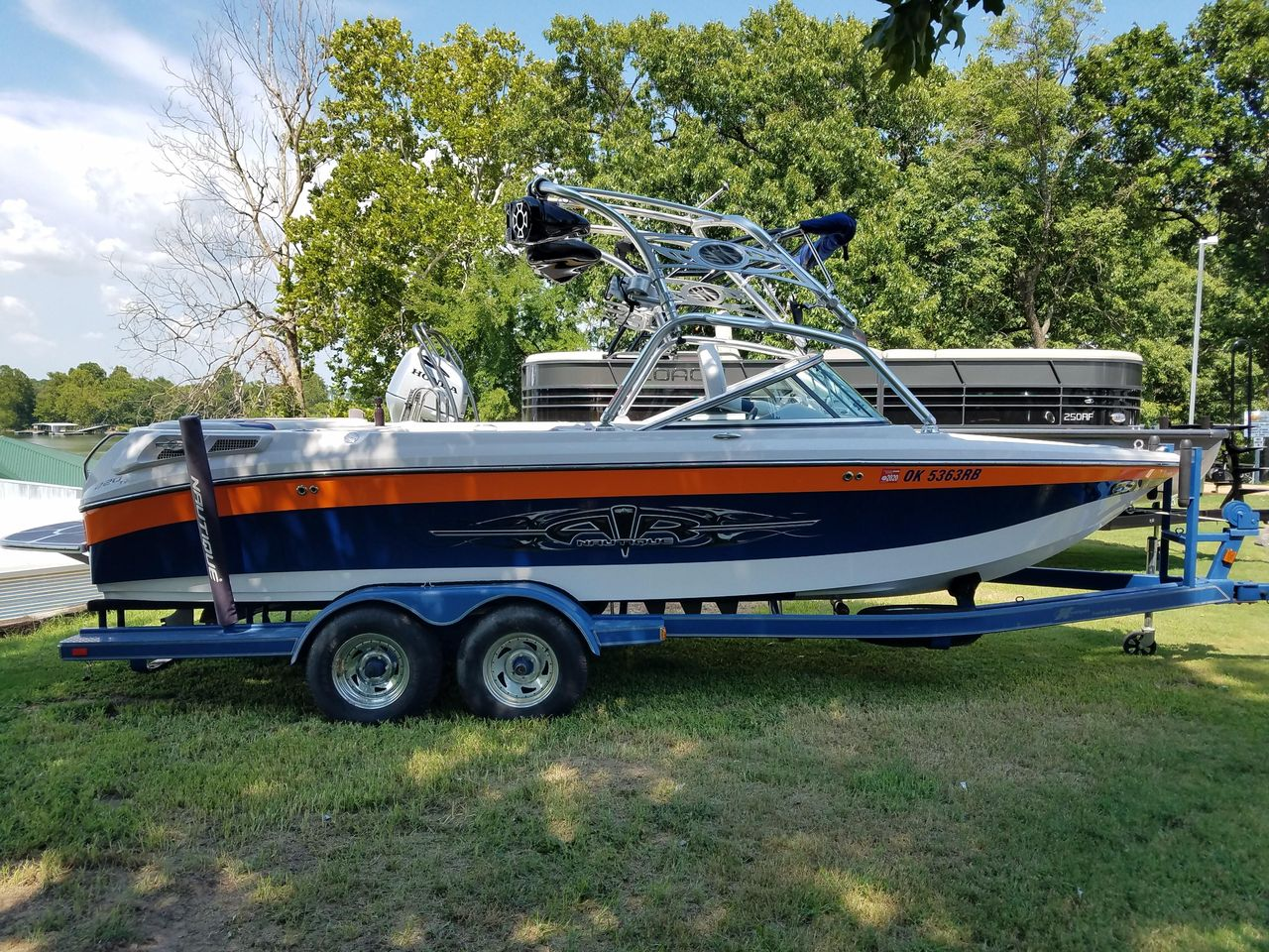 Used Nautique 220 TM220 TM Ski And Wakeboard Boat For Sale