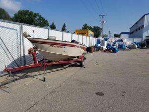 Used Fisher 16 Pro Avenger SC Freshwater Fishing Boat For Sale