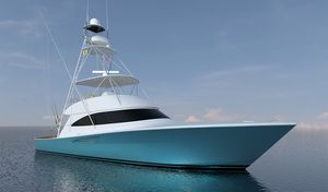 New Viking 58 Convertible Fishing Boat For Sale