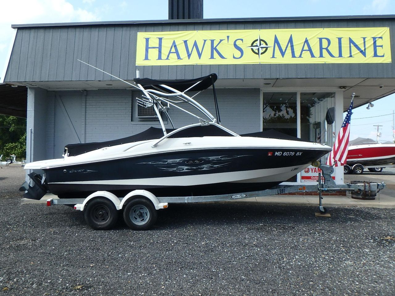 2006 Used Sea Ray 205 Sport Bowrider Boat For Sale - $19,995