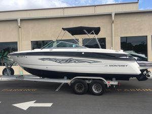Used Monterey 264fs Sports Fishing Boat For Sale