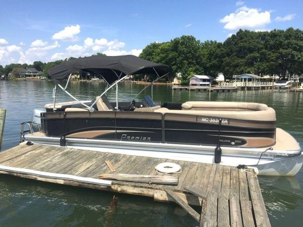 Used Premier 250 Solaris Pontoon Boat For Sale