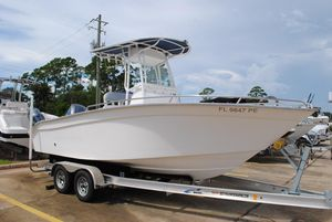 Used Cape Horn 21 Center Console Fishing Boat For Sale