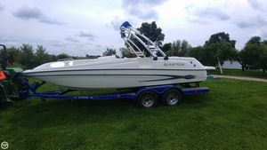 Used Glastron DX-215 Deck Boat For Sale