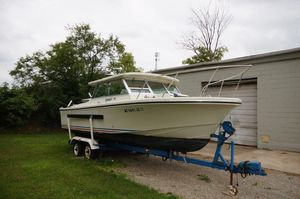 Used Stamas 240 Tarpon Cuddy Cabin Boat For Sale
