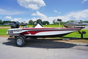Used Nitro Z18 Freshwater Fishing Boat For Sale