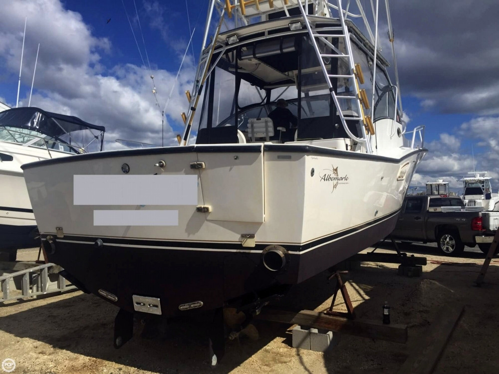 1999 used albemarle 320 express fisherman sports fishing for Fishing boats for sale nj