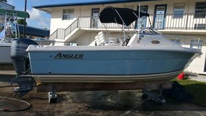Used Angler 220 WA with Yamaha Four Stroke 225hp220 WA with Yamaha Four Stroke 225hp Cuddy Cabin Boat For Sale