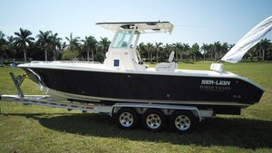 New Sea Lion Boats 2784cc Center Console Fishing Boat For Sale