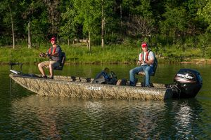New Lowe Stinger 195 Poly CamoStinger 195 Poly Camo Bass Boat For Sale