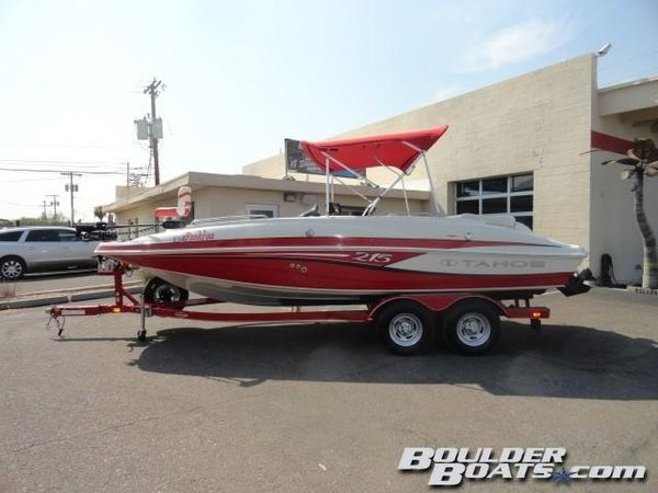 Used Tahoe 215 Xi215 Xi Deck Boat For Sale