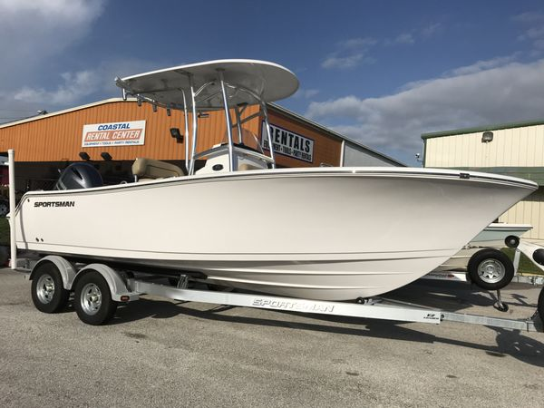 New Sportsman Boats 212 Open212 Open Center Console Fishing Boat For Sale