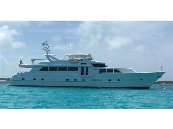 Used Broward Open Flybridge Motor Yacht For Sale