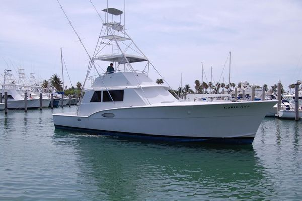 Used Hatteras Convertible Sport Fisherman Sports Fishing Boat For Sale