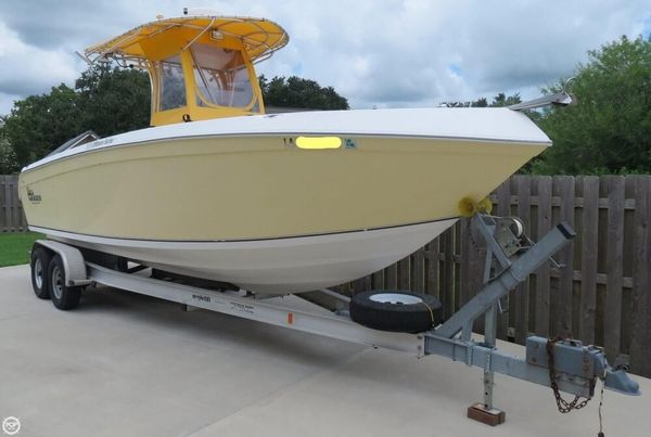 Used Carolina Skiff Sea Chaser 2600 Offshore Series Center Console Fishing Boat For Sale
