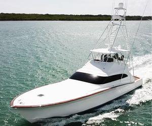 Used F&s 72 Custom Sportfish Sports Fishing Boat For Sale