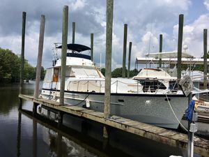 Used Matthews 45 Double Cabin Fly Bridge Aft Cabin Boat For Sale