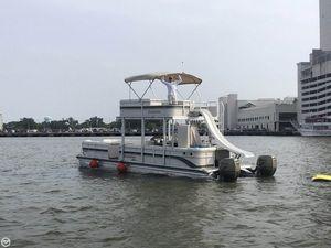 Used Premier Pontoons 310 Boundary Waters Wide Deck Pontoon Boat For Sale