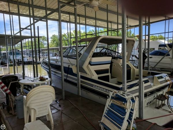 Used Carver 32 Montego Dual Cabin Express Cruiser Boat For Sale