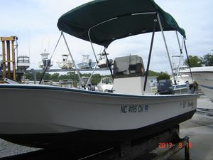 Used Polar Kraft 1780 Center Console Fishing Boat For Sale
