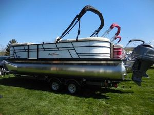 New Sunchaser LR DH SPORTLR DH SPORT Pontoon Boat For Sale
