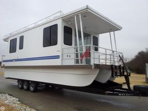 Used Catamaran Cruisers 35 House Boat For Sale