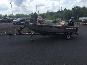 Used Tracker Super guide 14Super guide 14 Freshwater Fishing Boat For Sale