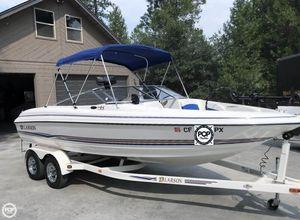Used Larson 210 SEI Fish and Ski Bowrider Boat For Sale