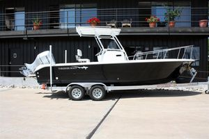 Used Thresher 24 Open Center Console Fishing Boat For Sale