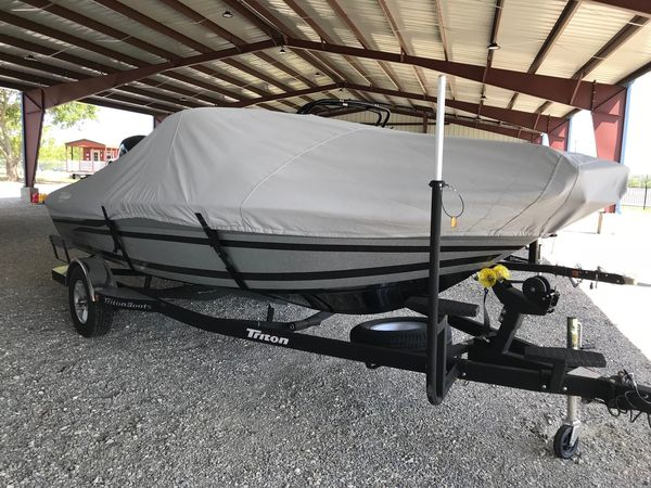 Used Triton 186 Fishunter High Performance Boat For Sale