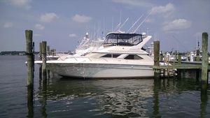 Used Sea Ray 440 Express Bridge Cruiser Boat For Sale