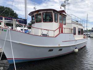 Used Glen-L Marine 43 Yukon Argosy Trawler Boat For Sale