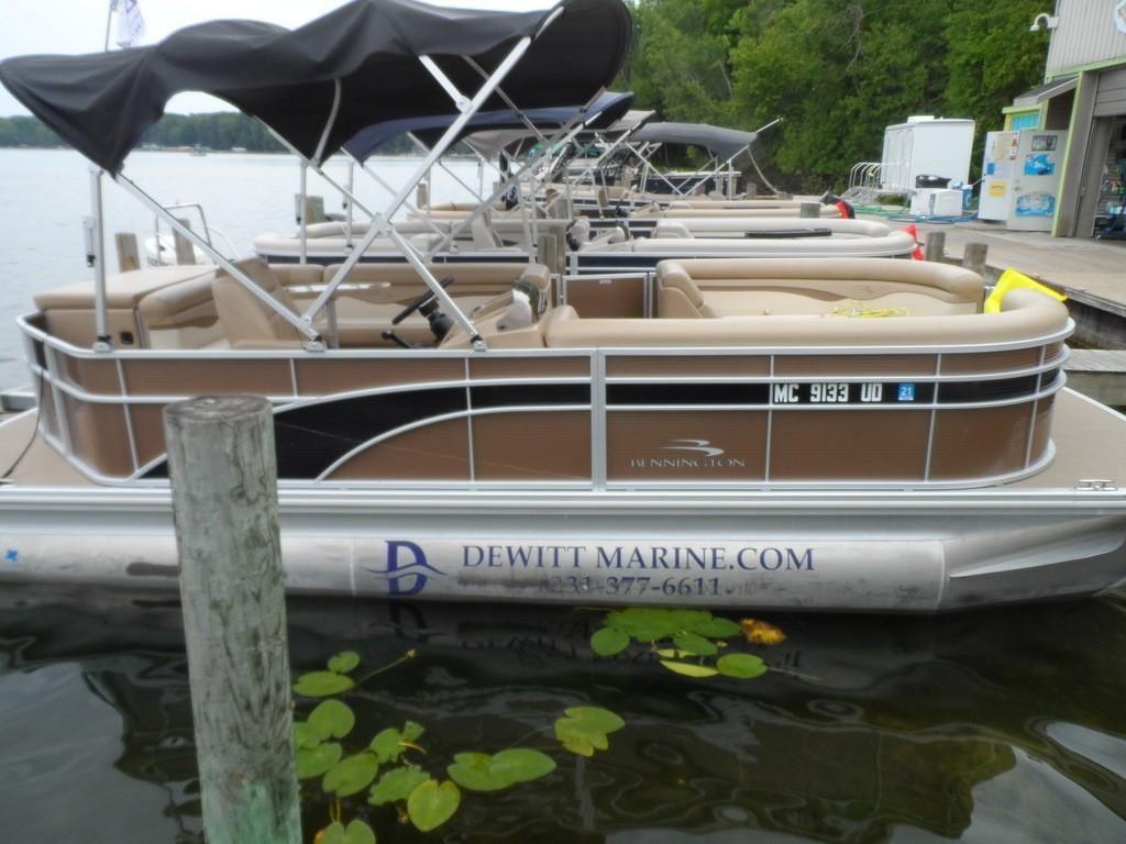 2018 Used Bennington 22slx22slx Pontoon Boat For Sale 36 992